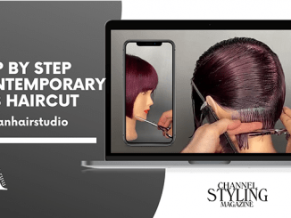 FULL STEP BY STEP CONTEMPORARY BOB HAIRCUT