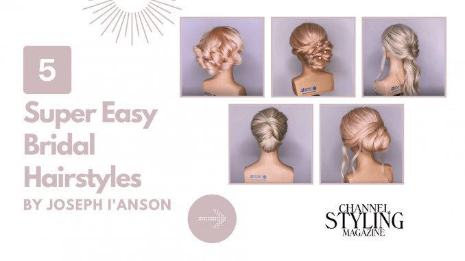 5 Super Easy Bridal Hairstyles Video