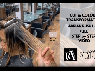 Cut & Clour Transformation Step by Step Full Video