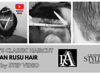 Men's classic Haircut Step by Step Video